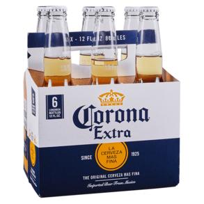 Corona Extra 6pk 12 oz Bottles