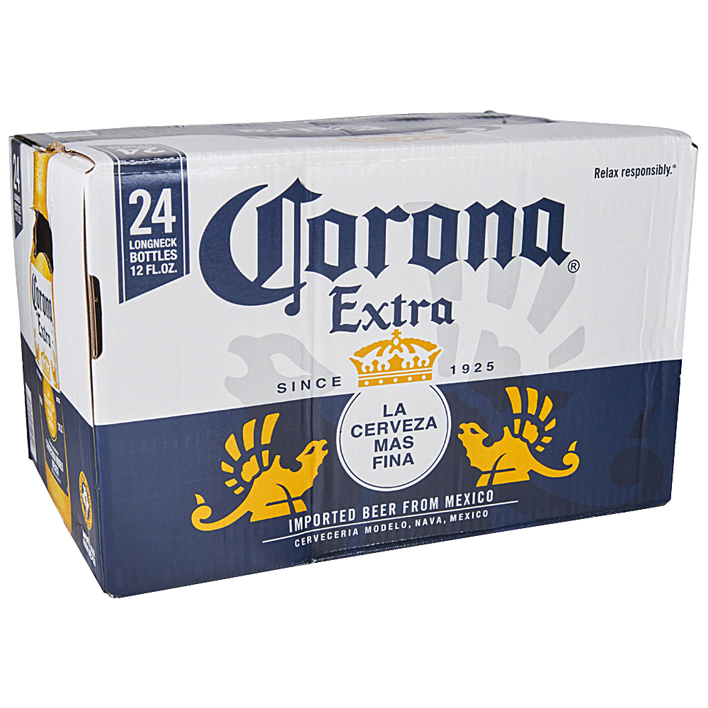 Corona Extra Loose 24pk 12 oz Bottles