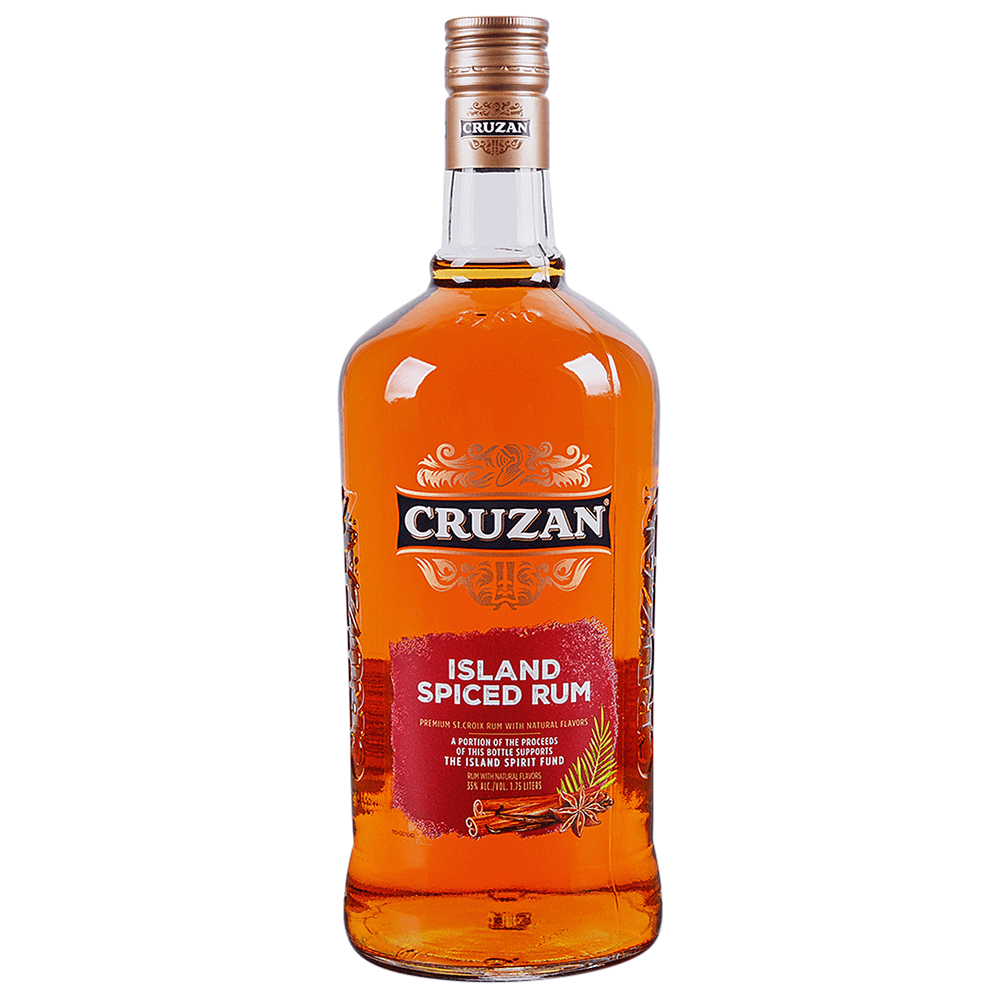 Applejack cruzan 9 spiced rum for Mix spiced rum with