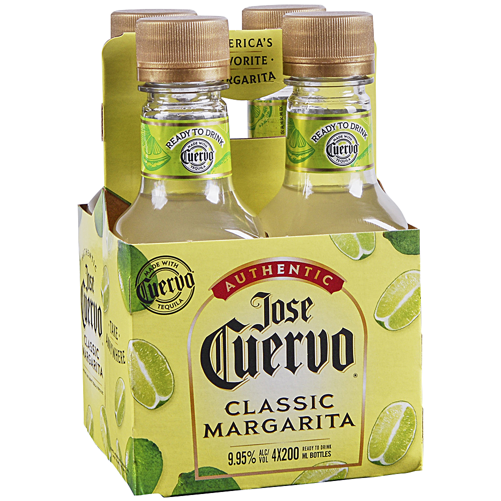 Jose Cuervo Margarita 4 Pack Bottles
