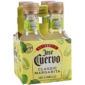 Jose Cuervo Margarita 4 Pack Bottles