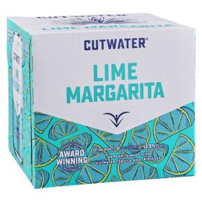 Cutwater Spirits Lime Tequila Margarita Cocktail 4pk 12 oz.