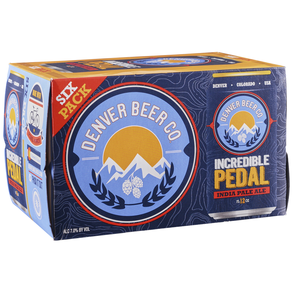 Denver Beer Incredible Pedal IPA 6pk 12 oz Cans