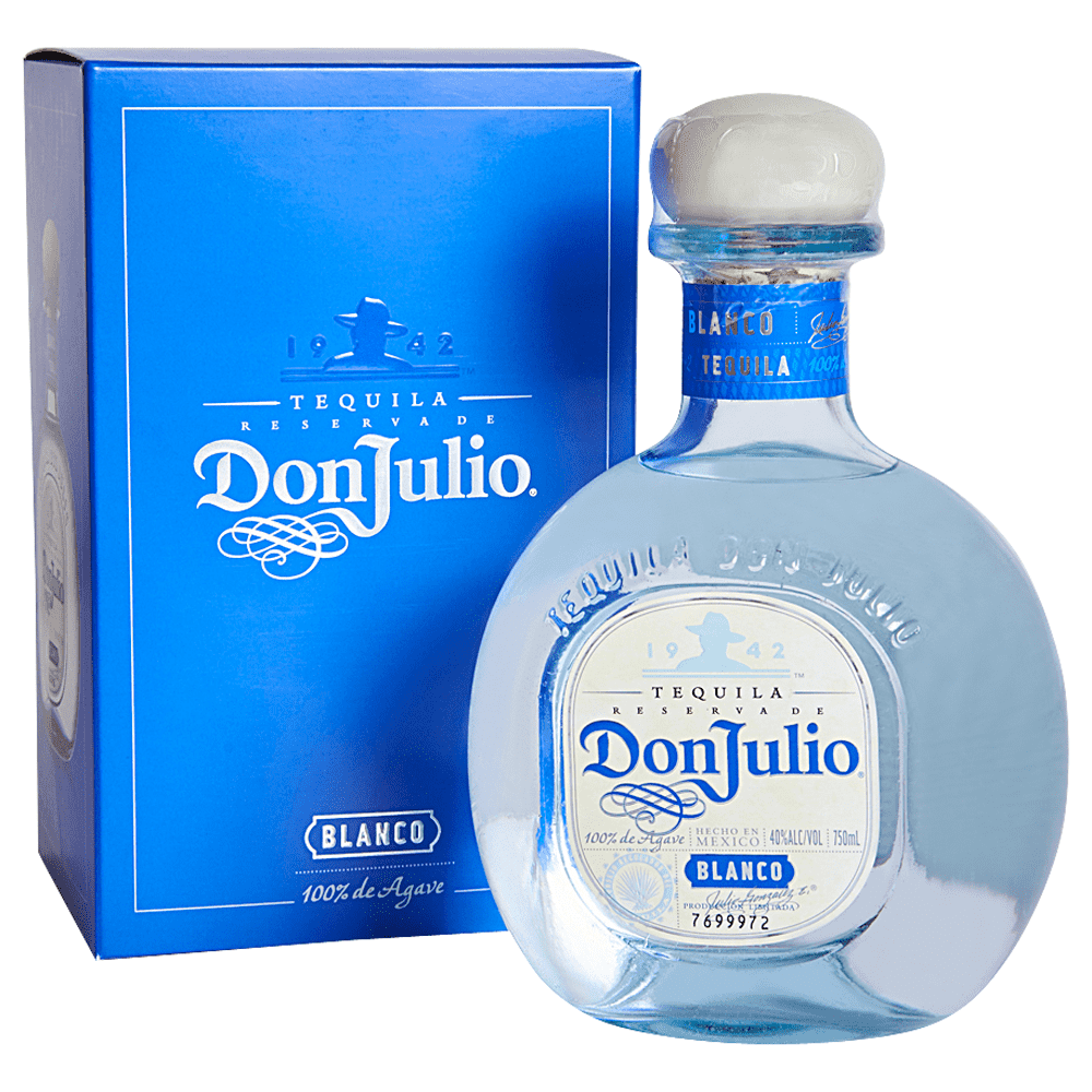 Applejack Don Julio Silver Tequila