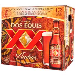 Dos Equis XX Amber 12pk 12 oz Btls