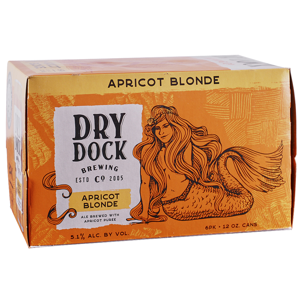 Dry Dock Apricot Blonde 6pk 12 oz Cans