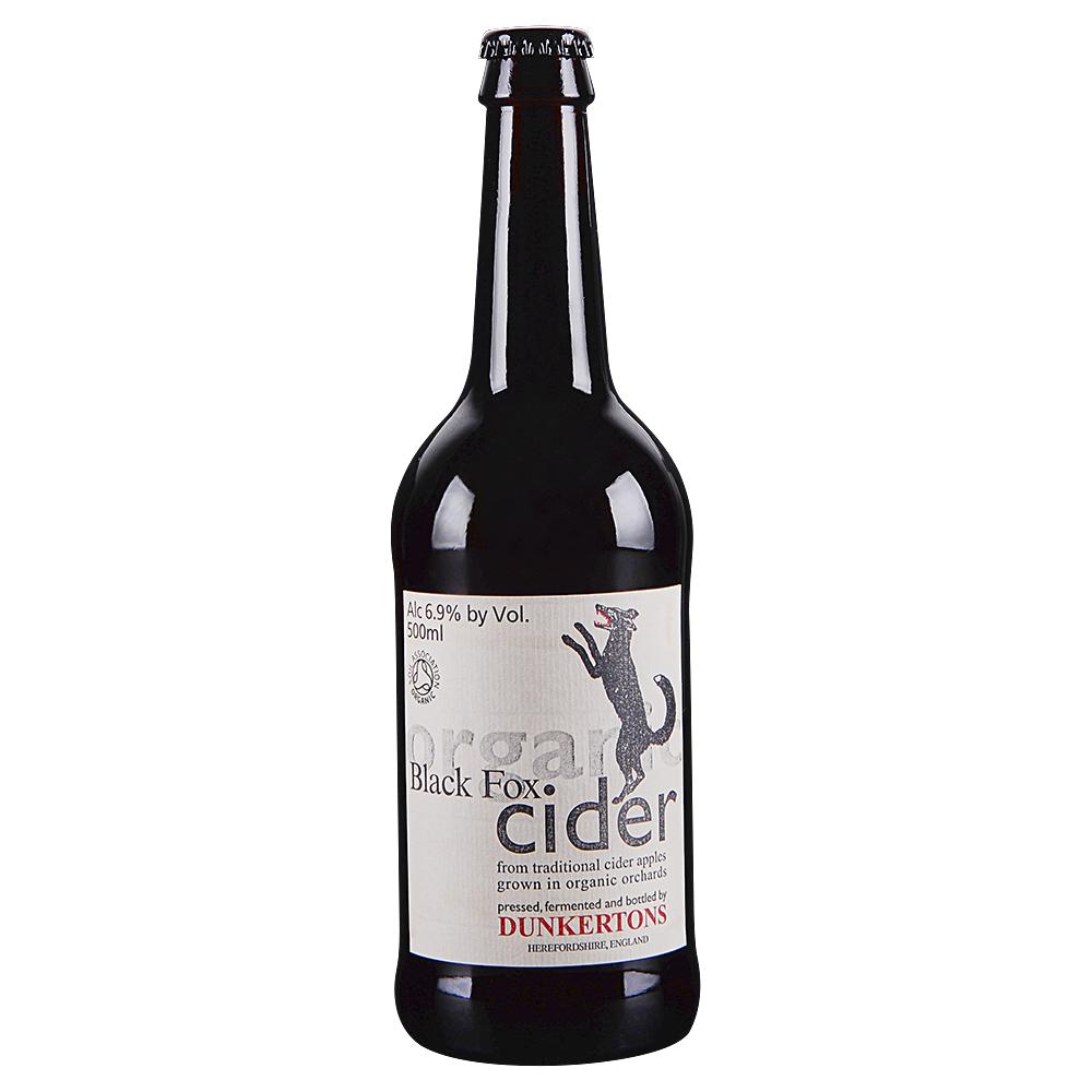 Dunkertons Black Fox Cider 500 ml Bottle