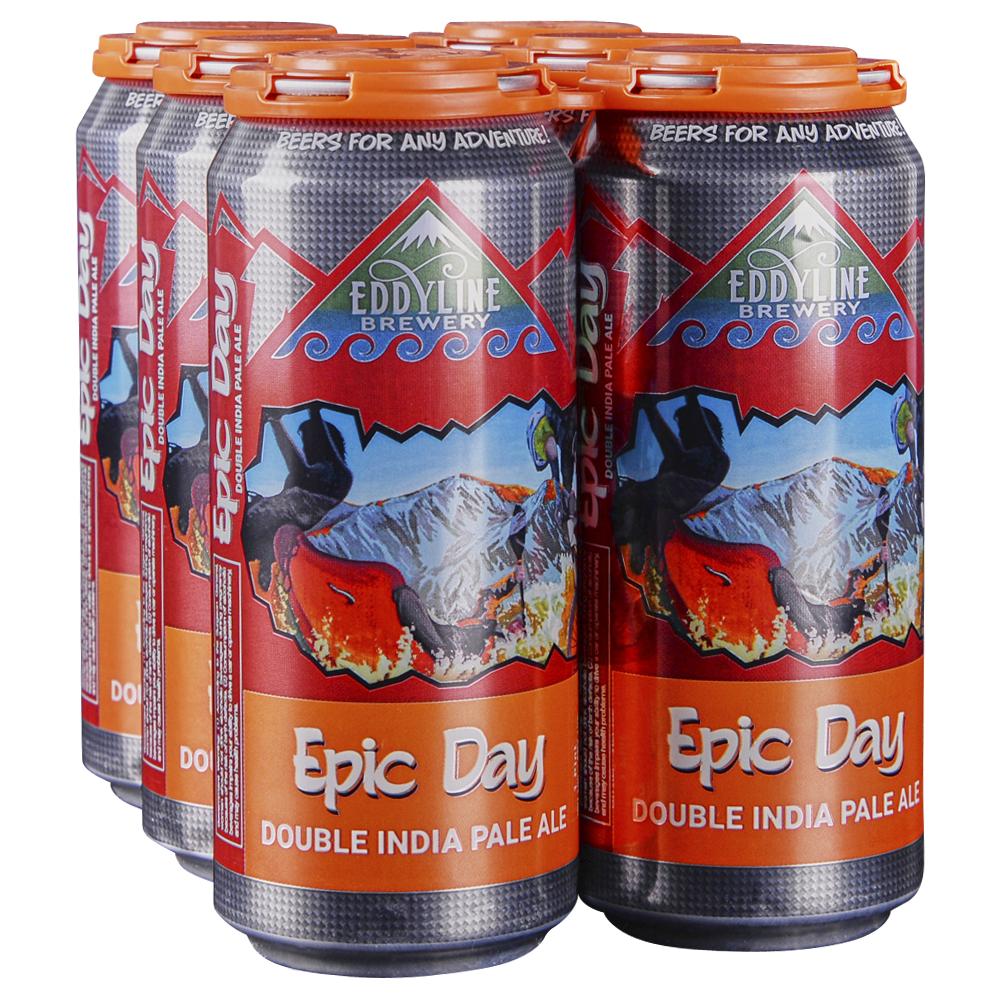 Eddyline Epic Day Dipa 6pk 16 oz Cans
