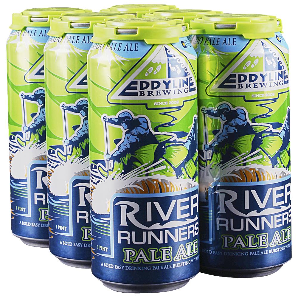 Eddyline Riverrunner Pale Ale 6pk 16 oz Cans