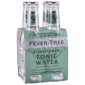 Fever Tree Elderflower Tonic 4 pk