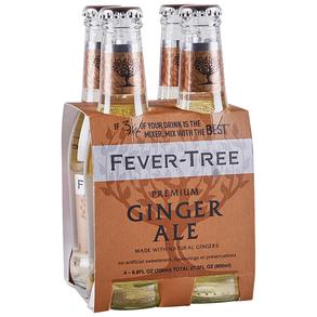 Fever Tree Ginger Ale 4 pk