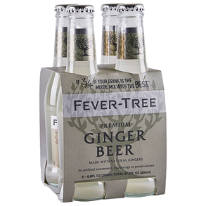 Fever Tree Ginger Beer 4 pk