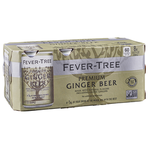 Fever Tree Ginger Beer 8pk 5 oz Cans