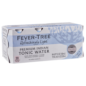 Fever Tree Light Tonic 8pk 5 oz Cans