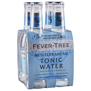 Fever Tree Mediterranean Tonic Water 4 pk