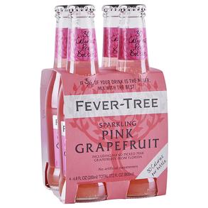 Fever Tree Pink Grapefruit 200 ml 4pk Bottles