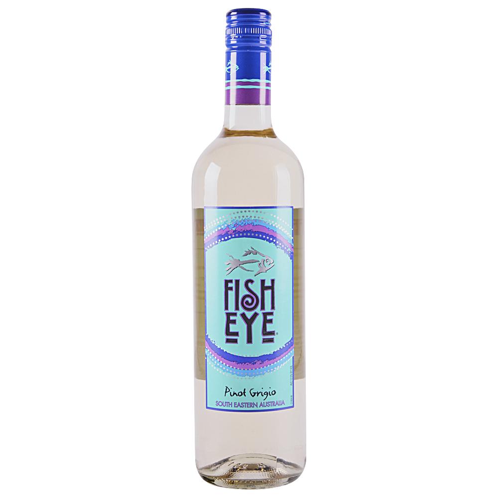 Applejack fish eye pinot grigio 750 ml for Fish eye pinot grigio