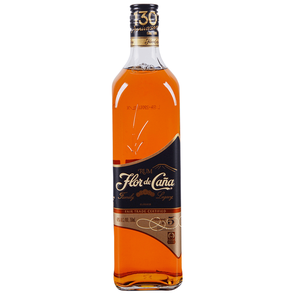 applejack flor de cana gold 5 year rum