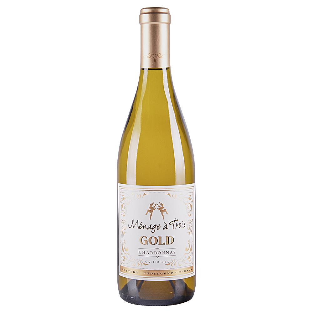 Menage A Trois Chardonnay Gold 750 ml