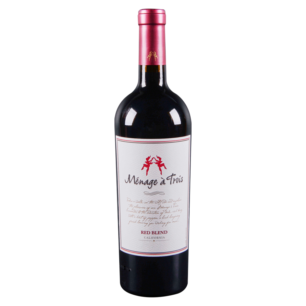 Menage A Trois Red Wine 750 ml