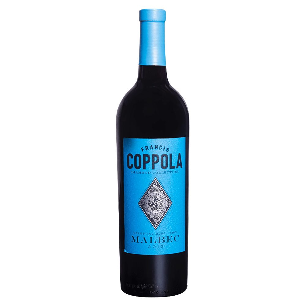 Francis Coppola Malbec Celestial Blue Label Diamond Collection 750 ml