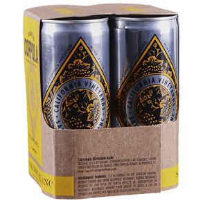 Francis Coppola Sauvignon Blanc Yellow Label Diamond Collection Can 4 pack 250 ml