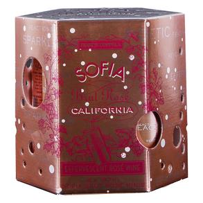 Francis Coppola Rose Brut Sofia Mini Can 4 pack 187 ml