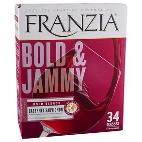 Franzia Cabernet Sauvignon Bold and Jammy 5.0 l