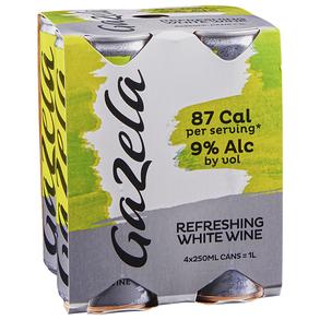 Gazela Vinho Verde 4 pack 250 ml Cans