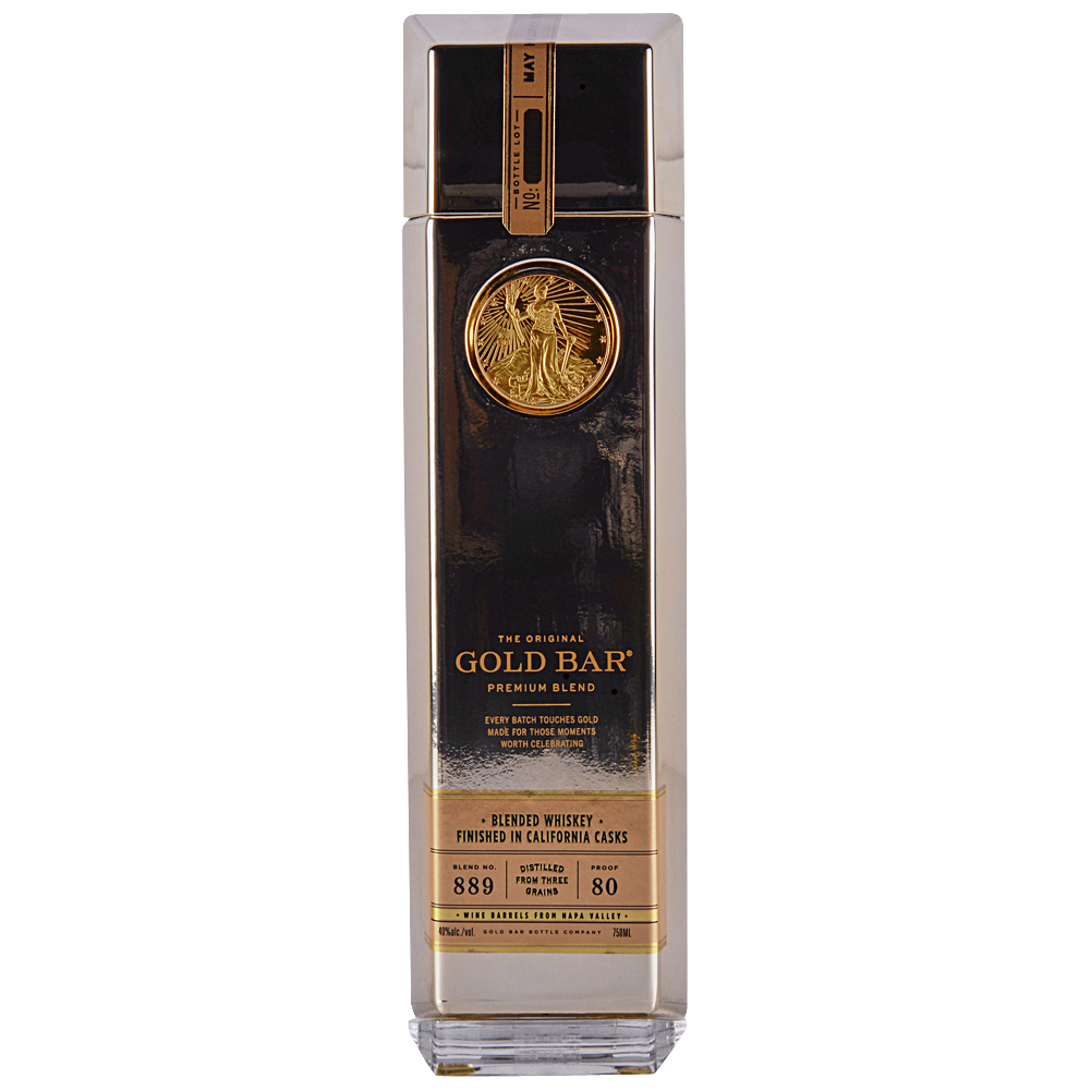 Gold Bar Whiskey 750 ml