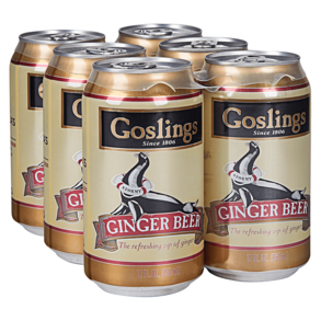 Goslings Ginger Beer 6pk 12 oz Cans