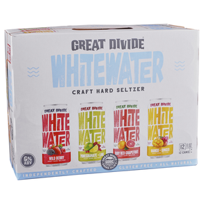 Great Divide Whitewater Seltzer 12pk 12 oz Cans