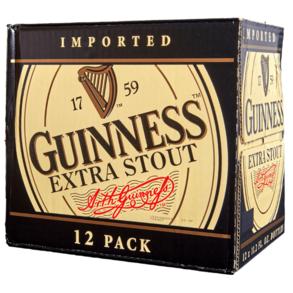 Guinness Extra Stout 12pk 12 oz Bottles
