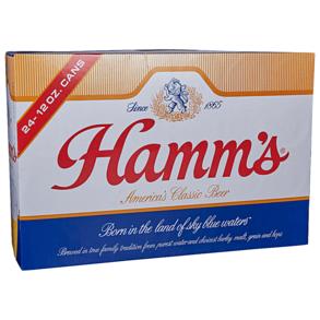 Hamms Suitcase 24pk 12 oz Cans
