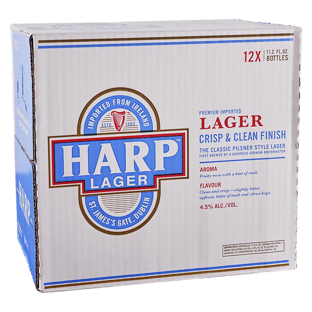 Harp Lager 12pk 12 oz Btls