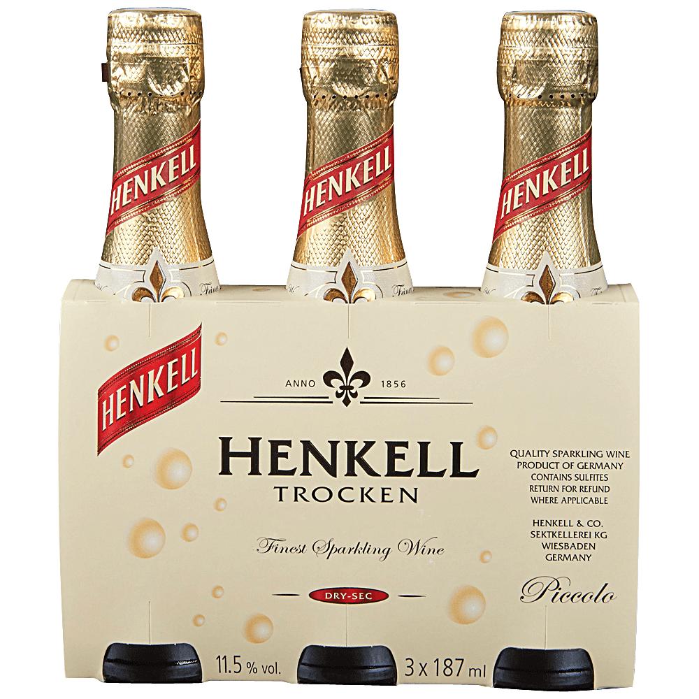 Henkell Trocken 3 pack 187 ml