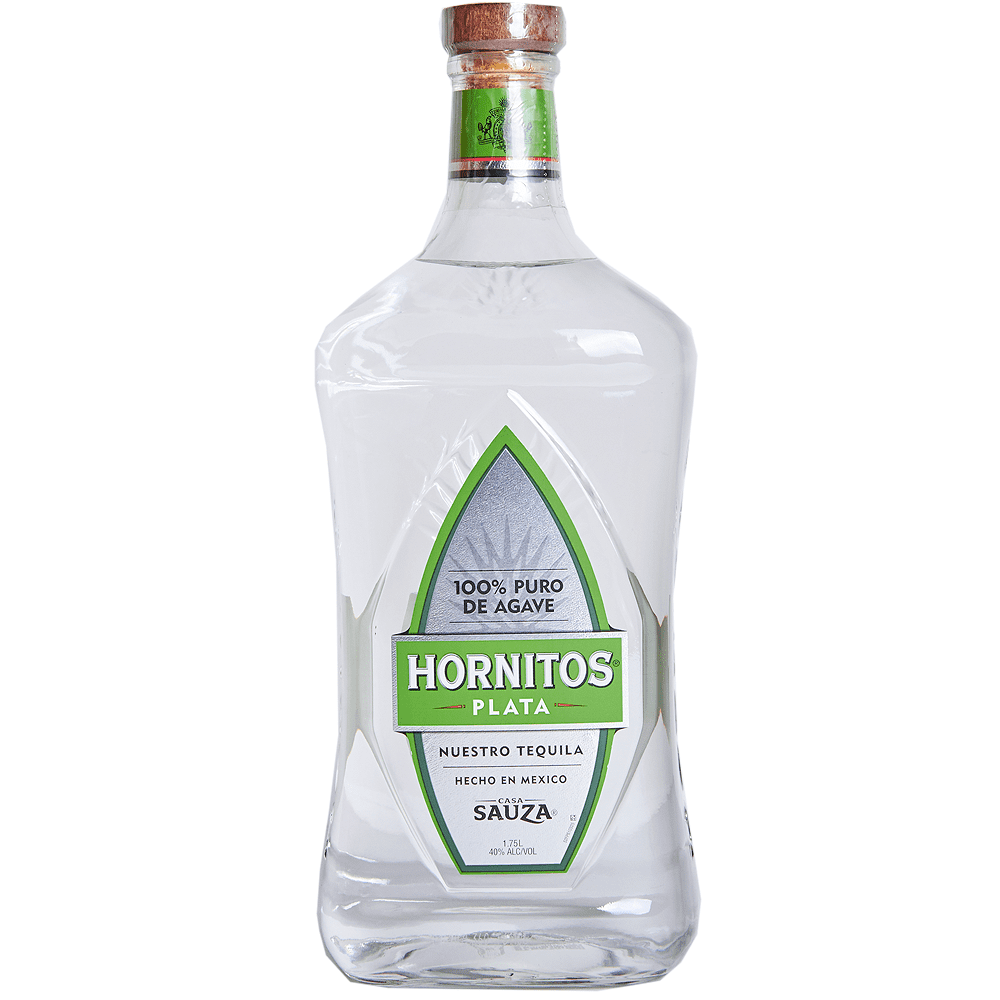 Hornitos Plata Tequila 1.75 l