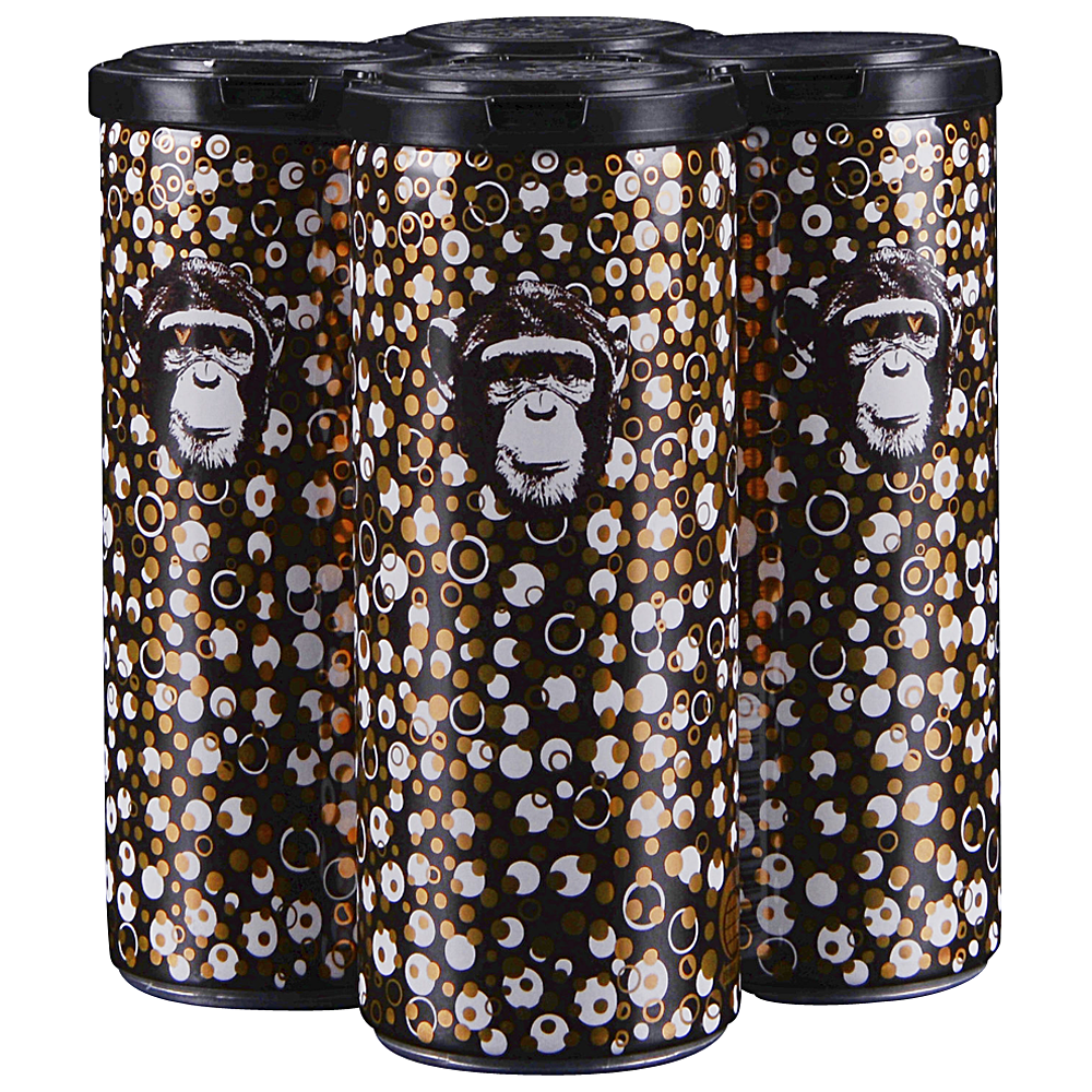 Infinite Monkey Sparkling Riesling Can 4 pack 250 ml