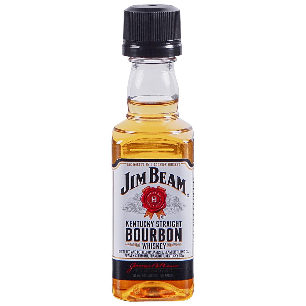Jim Beam Kentucky Straight Bourbon Whiskey 50 Ml Applejack
