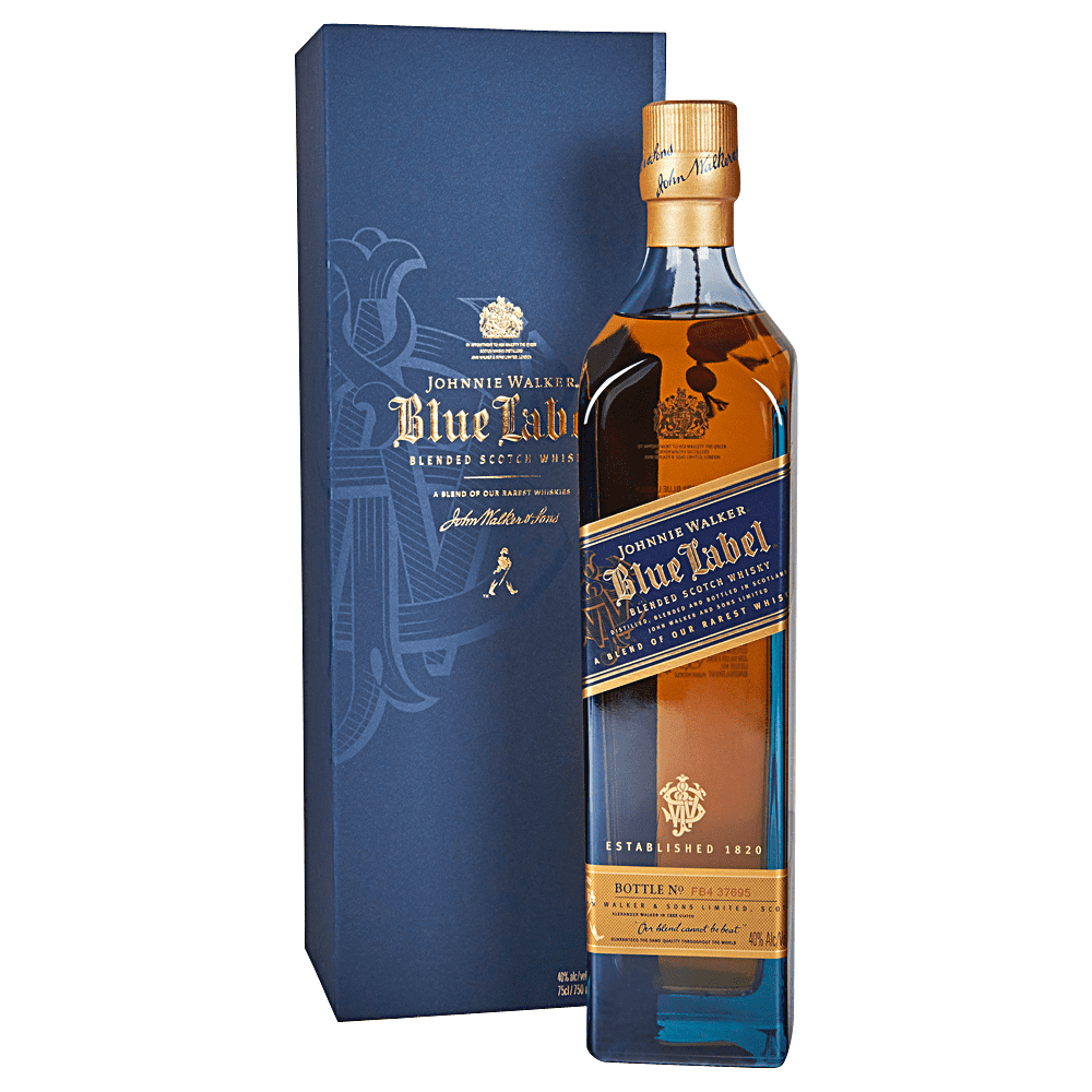 Applejack Johnnie Walker Blue Label Blended Scotch