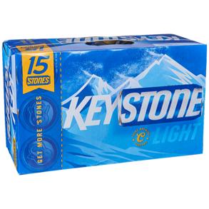 Applejack Keystone Light 18pk 16 Oz Cans