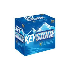 Keystone Light 30pk 12 oz Cans