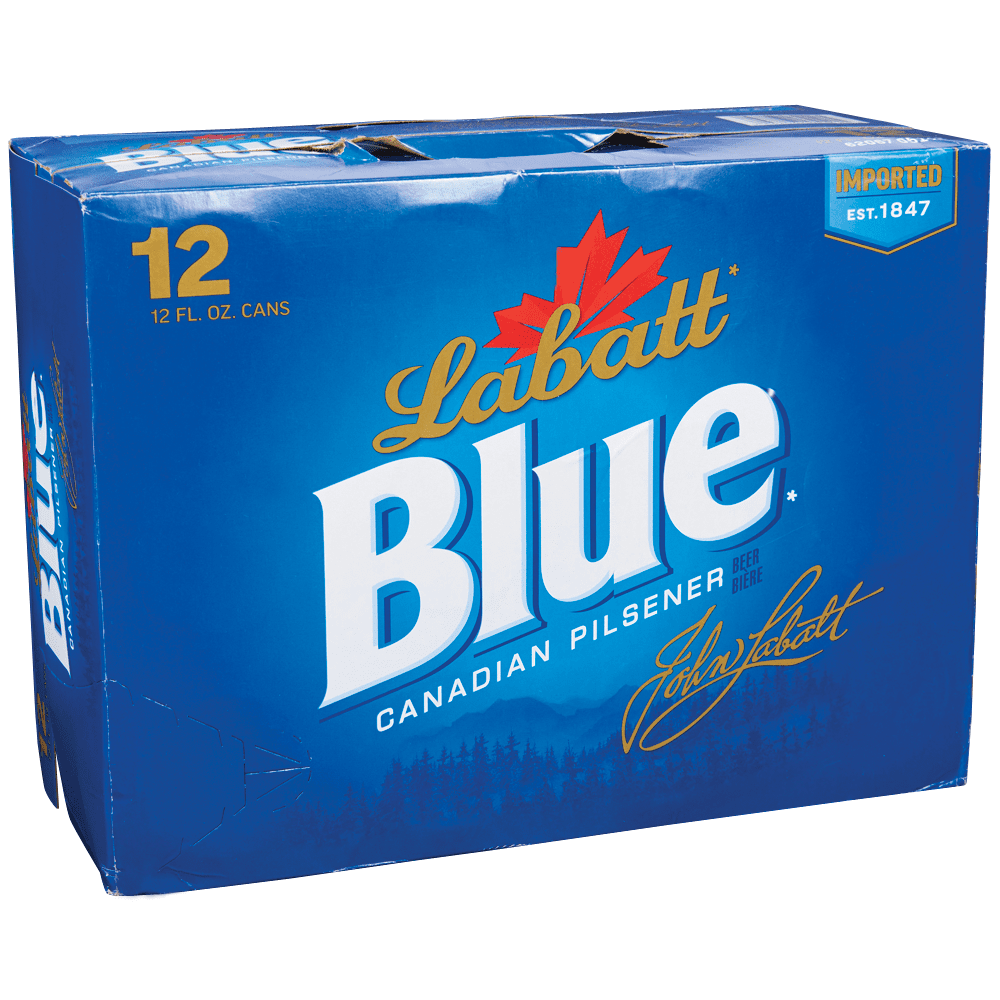 Applejack Labatts Blue 12pk 12 Oz Cans