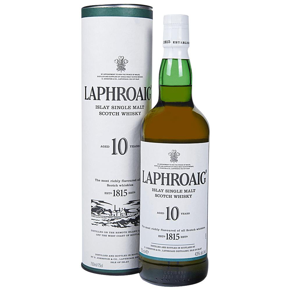 Laphroaig 10 Year Single Malt Scotch Whiskey 750 ml