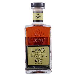 Laws San Luis Straight Rye Whiskey 750 ml