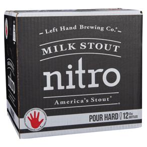 Left Hand Nitro Stout 12pk 12 oz Btls