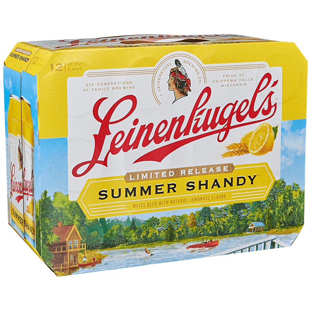 Applejack Leinenkugel Summer Shandy 12pk 12 Oz Cans