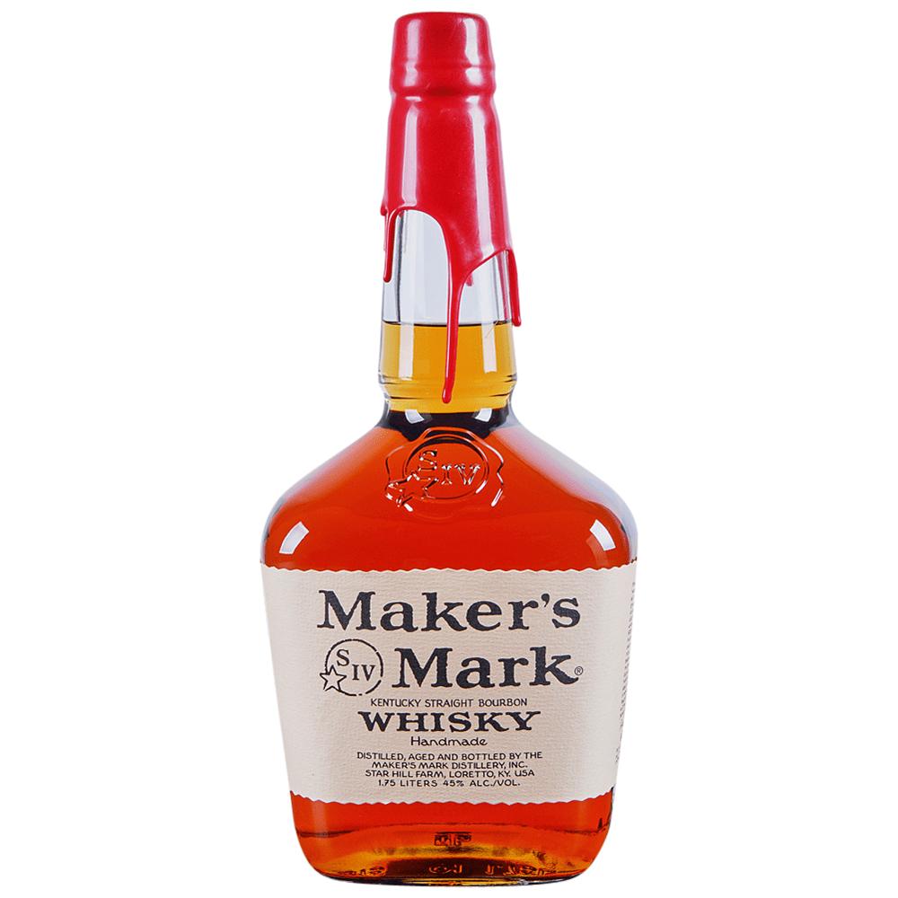 Makers Mark Kentucky Straight Bourbon Whiskey 1.75 l