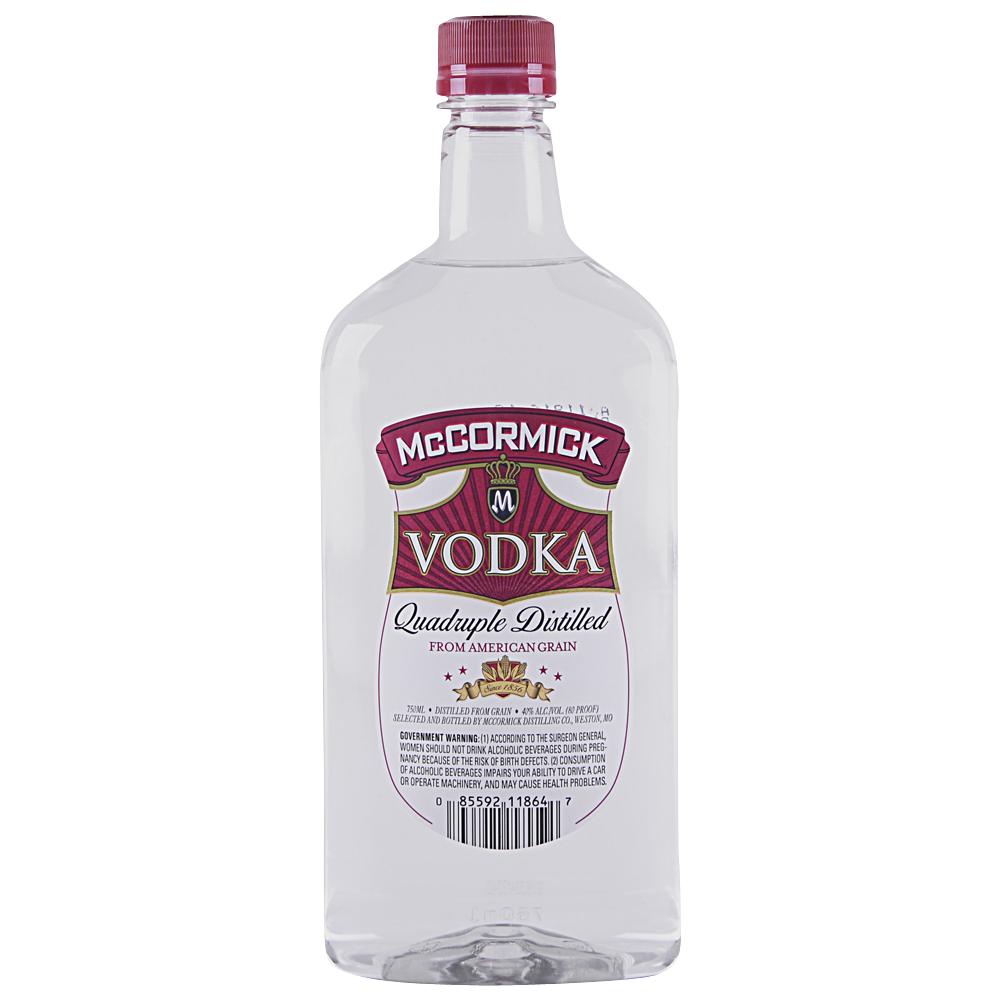 McCormick Vodka Plastic Bottle 750 ml