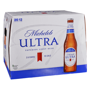 Michelob Ultra 20pk 12 oz Bottles